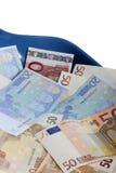 Junk money. Concept - euro value Stock Images