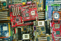 Junk Motherboards Stock Photos