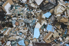 Junk pile of old building. Royalty Free Stock Photography