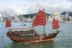 Junk Ship Royalty Free Stock Photos
