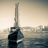 Junk Ship Stock Photography