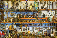 Junk shop. A junk shop in Istanbul,Turkey Royalty Free Stock Images