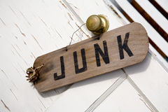 Junk Sign Stock Images