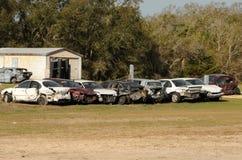 Junk yard Royalty Free Stock Image