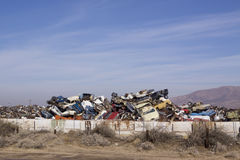Junk yard Stock Photos