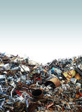 Junk Yard. A photo of a pile of metal scrap in a junk yard Stock Photography