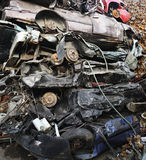 Junk Yard Royalty Free Stock Photography