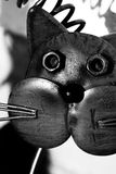 Junk Yard Cat. Cat made from metal and Junk stock image