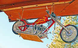 Junk Yard Chopper Royalty Free Stock Photography