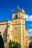 Junkaleko Andre Maria Church i Irun - Spanien Royaltyfri Bild
