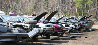 Junker Cars Royalty Free Stock Photography