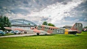 Junkers Ju-52 Stockbild