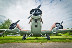 Junkers Ju-52 Images stock