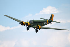 Junkers JU 52 - στο Λα Comina 100 επέτειος Στοκ Εικόνα