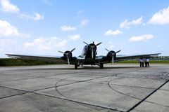 Junkers Ju 52 D-AQUI Royalty Free Stock Photography