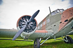 Junkers Ju-52 Royalty Free Stock Photos