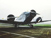 Junkers Ju-52. Aircraft Stock Photography