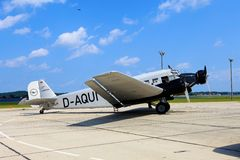 Junkiery Ju 52 D-AQUI obraz stock