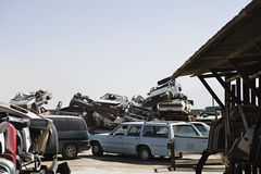 Junkyard Royalty Free Stock Photography