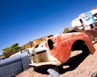 Junkyard Beatty Nevada fotografia stock