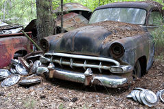 Junkyard car Royalty Free Stock Photos
