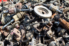 Junkyard Detail Abstract Royalty Free Stock Photos