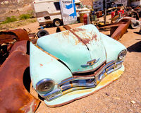 Junkyard di Beatty Nevada immagini stock libere da diritti