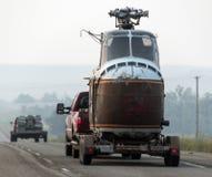 Junkyard helikopter Zdjęcie Stock
