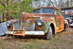 junkyard pojazd fotografia stock