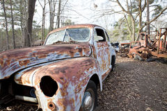 Junkyard Vehicle Royalty Free Stock Photos