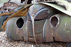 Junkyard Vehicle Royalty Free Stock Photo