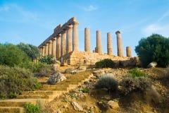 Juno świątynia Fotografia Stock