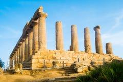 Juno świątynia Fotografia Royalty Free
