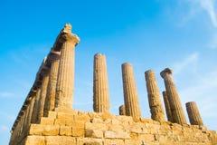 Juno świątynia Zdjęcia Stock