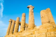 Juno świątynia Obraz Royalty Free
