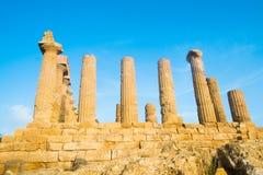Juno świątynia Zdjęcie Stock