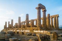 Juno świątynia Obraz Stock