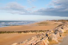 Juno Beach. Uno Beach is a stretch of French coast during the Normandy landings stock photos