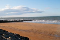 Juno Beach. Uno Beach is a stretch of French coast during the Normandy landings stock photography
