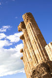 Juno Temple at Agrigento Royalty Free Stock Images