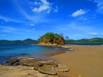 Junquillal海滩 库存照片