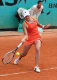 JUNRI NAMIGATA (JPN) chez Roland Garros photographie stock