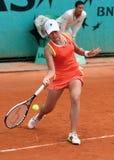 JUNRI NAMIGATA (JPN) en Roland Garros fotografía de archivo