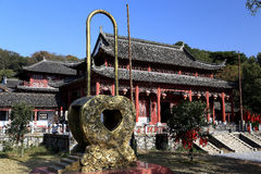 Junshan island in Dongting lake area Royalty Free Stock Photography