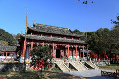 Junshan island in Dongting lake area Royalty Free Stock Images