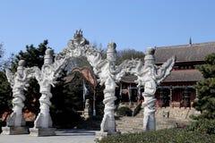 Junshan island in Dongting lake area Stock Photography