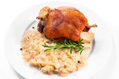 Junta alemão da carne de porco Fotos de Stock