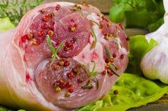 Junta da carne de porco Imagens de Stock Royalty Free
