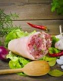 Junta da carne de porco Imagem de Stock Royalty Free