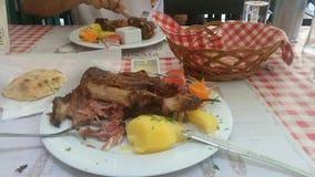 junta da carne de porco Foto de Stock